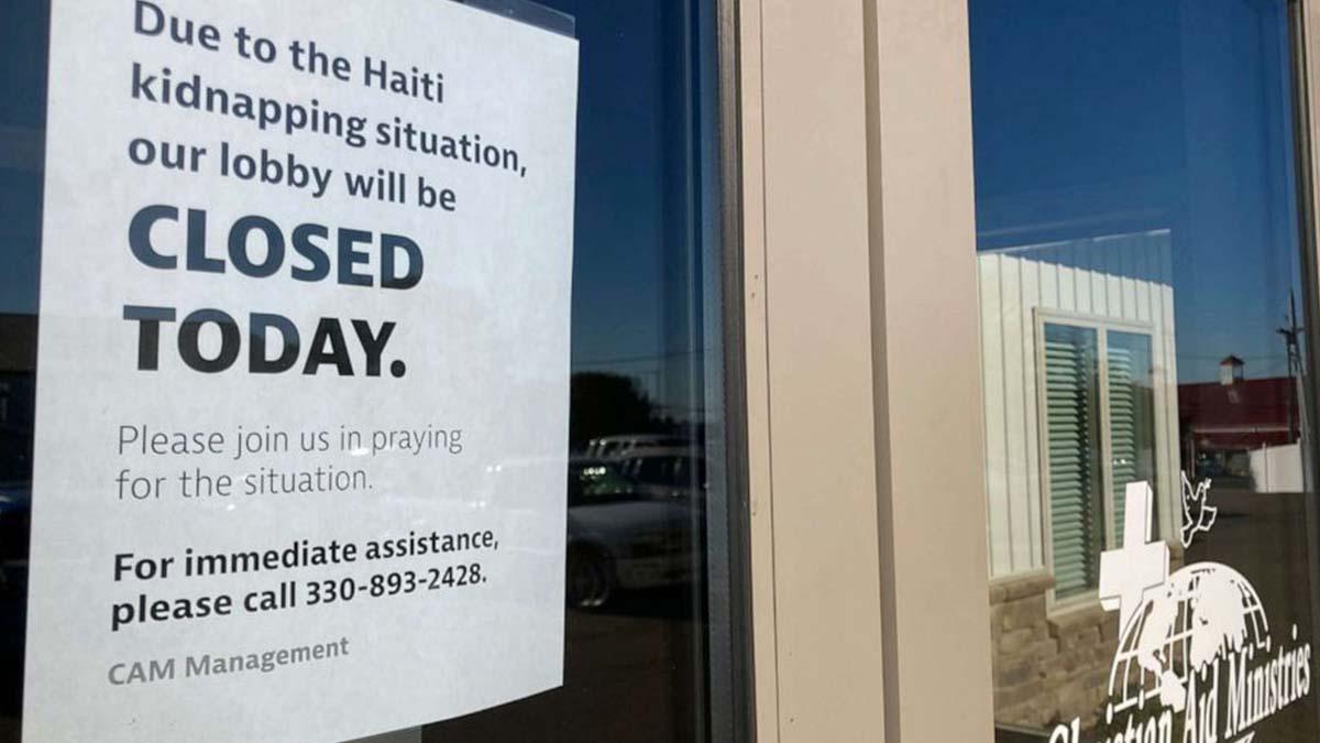 17 Missionaries Abducted in Haiti
